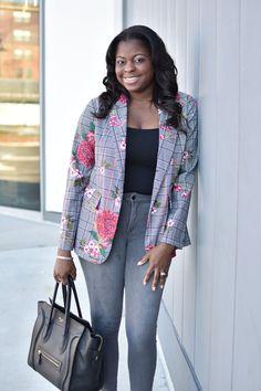 797707509 5 Ways To Style A Plaid Blazer. Plaid FashionFall FashionPlaid BlazerReal  StyleReal WomenJasmineAtlantaFashion ...
