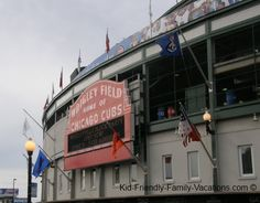 Things to do in Chicago - A Cubs baseball game at Wrigley Field is always a kid friendly vacation option!