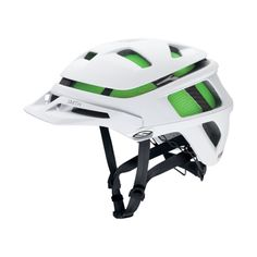Smith Optics Forefront Adult Off-Road Cycling Helmet - Matte White / Small - Works great, seems to be a quality design.This Smith Optics that is ranked 209922 i Cool Bike Helmets, Helmets For Sale, Xc Mountain Bike, Mountain Bike Helmets, Cycling Helmet, Bicycle Helmet, Cycling Gear, Mtb Helm, Off Road Cycling
