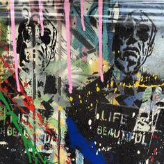 Mr Brainwash Mr Brainwash, Urban Graffiti, Make Art, Urban Art, Pop Art, Street Art, How To Look Better, Random, City Art