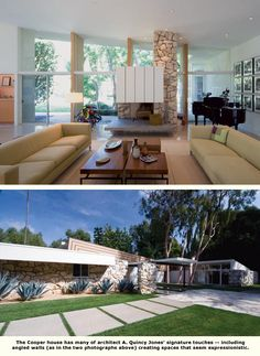 interior and exterior of gary cooper house http://www.eichlernetwork.com/article/encore-performance-gary-cooper-house#