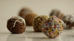 Easy Decadent Truffles Allrecipes.com  I think this may be better then making a regular ganache!!!