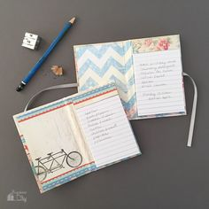 DIY Mini Notepad Gifts