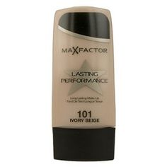 Max Factor Long Lasting Performance Make-Up has a long-lasting, smudge-proof formula that resists rubbing off.