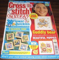 Cross Stitch February 2004  issue 56 magazine 35 birthday quickies #QuickEasyCrossStitch