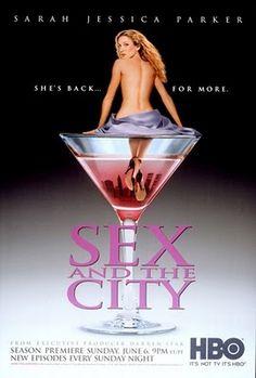 Design Innova: Cartazes de Séries da TV - Sex and the city