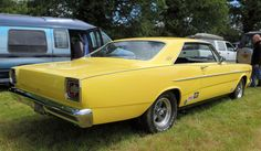 Ford Galaxie 500, rear three quarter view, c1966 by Chappells10, via Flickr