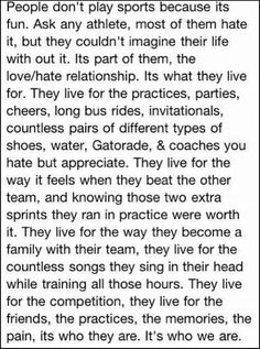 So true soccer quotes softball quotes, sport quotes, volleyball quotes. Gymnastics Quotes, Volleyball Quotes, Basketball Quotes, Softball Memes, Cheerleading Quotes, Play Volleyball, Volleyball Gifts, Women's Basketball, Field Hockey Quotes