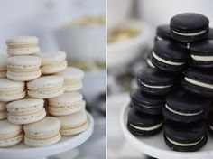 A Blissful Nest Sweet Style Black White birthday 7 {BN Black Book of Parties} Black and White Dessert Table White Dessert Tables, White Desserts, Dessert Table Birthday, Gatsby Themed Party, Hot Chocolate Bars, Party Food And Drinks, Creative Food, Sweet 16, Black And White