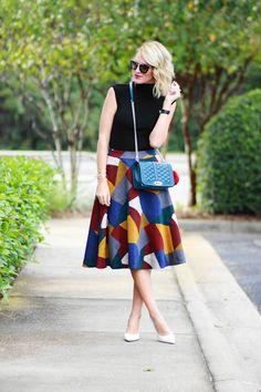 Belle de Couture: Retro Color Block