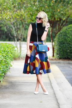 Belle de Couture: Retro Color Block