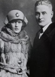 Scott and Zelda Fitzgerald; I don't know which one was dragging the other down, so I figure they're the ultimate self-annihilating artistic couple F Scott Fitzgerald Biography, Scott And Zelda Fitzgerald, New Freedom, Writers And Poets, It Takes Two, Portraits, Famous Couples, Jazz Age, Interesting Faces