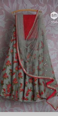 Half Saree Lehenga, Lehnga Dress, Lehenga Blouse, Silk Lehenga, Anarkali, Designer Bridal Lehenga, Indian Bridal Lehenga, Half Saree Designs, Lehenga Designs
