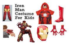 """Iron Man Halloween Costume for Kids"" by kidsntoddler"