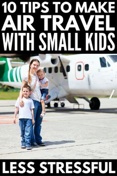 If flying with kids is in your future, this collection of 10 simple tips to make air travel with kids easier is JUST what you need! Toddler Travel, Travel With Kids, Family Travel, Travel Toys, Air Travel, Travel Stuff, Travel Light, Travel Activities, Activities For Kids