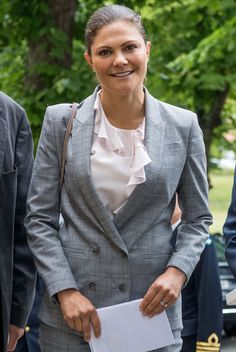 Crown Princess Victoria of Sweden attends the Royal Colloquium 25th Anniversary celebrations at Ulriksdal Palace Theatre on September 6, 2017 in Stockholm, Sweden.