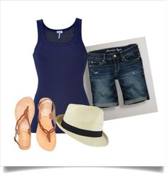 """summer"" by rachelbobbs on Polyvore"
