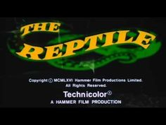 The Reptile (1966) Trailer - YouTube