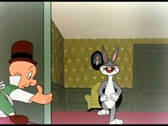 1945 - Bugs Bunny - Hare Tonic -- Yes, it was actually done in the but --LUCKY US!-- it was still airing in the I LOVE Bugs Bunny! Best Cartoons Ever, Old Cartoons, Disney Cartoons, Thats All Folks, Thats The Way, Looney Tunes Bugs Bunny, Elmer Fudd, Comic Book Superheroes, Cartoon Shows