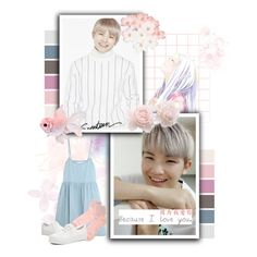 """OMG"" by bangtan-life ❤ liked on Polyvore featuring Behance, The Great, omg, kpop, seventeen, woozi and jihoon"