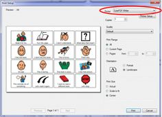 Saving Boardmaker as PDF & sharing Speech Language Pathology, Speech And Language, Classroom Inspiration, Classroom Ideas, Angelman Syndrome, Autism Support, Teacher Supplies, Visual Schedules, Language Activities