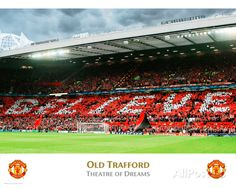 Manchester United-Old Trafford Interior Photo at AllPosters.com