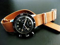 One of the rarest Breitling watch…817 model for Italian Army Helicopter pilots.