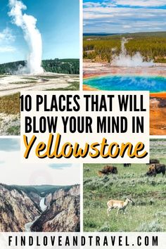 Canada Travel, Travel Usa, Travel Tips, Travel Guides, Travel Destinations, West Yellowstone, Yellowstone National Park, Yellowstone Attractions, Cool Places To Visit