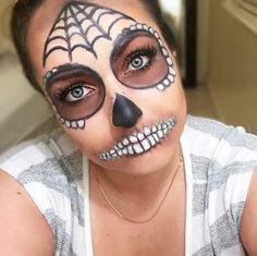 Halloween Makeup! Sugar Skull