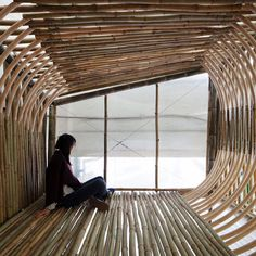 Bamboo micro homes could be slotted inside Hong Kong's old factories