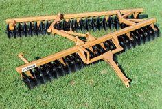 CIVEMASA - Implementos Canavieiros - GNC Grade Destorroadora - As GNC são indicadas para a gradagem de complementação do ciclo de preparo do solo, destorroando-o uniformemente e deixando-o em condições para o plantio e colheita mecanizada