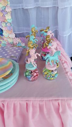 Pastel Unicorn favors