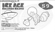 L'era glaciale - In rotta di collisione: Retro Figurina n. S9 -