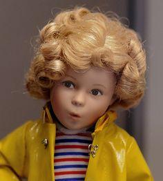 Cute Shirley Temple Doll