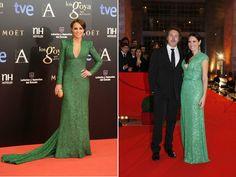 Vestidos de festa verdes | O blog da Maria. #casamento #vestidos #madrinhas