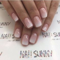 Enter gorgeous bridal nail arts that can be customised to match your ensemble; think stunning gold-traced tips, miniature floral designs, stylish glitter nails or even OTT embellished nails that are… Cute Nails, Pretty Nails, My Nails, Nails Today, Classy Nails, Neutral Nail Art, Neutral Nail Designs, Bridal Nail Art, Bridal Nails French