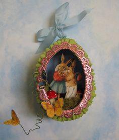 Easter Egg Theatre  http://www.castleintheair.biz/shoppe/Galleries/media/quickcrafts/CCQC3_EasterEggTheatre.pdf
