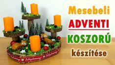 Advent, Planter Pots, Table Decorations, Christmas, Youtube, Diy, Creative, Xmas, Bricolage