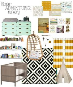 Baby Boy Nursery InspirationLife with a Dash of Whimsy