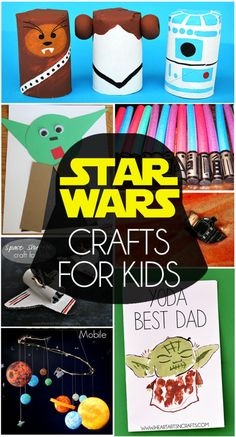 May The Fourth Be With You - Star Wars Activities For Kids | These easy crafts for kids are sure to please!