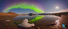 Aurora over Greenland