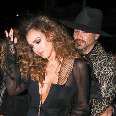 Jessica Alba & Cash Warren #FansnStars
