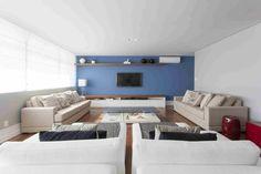 Um apartamento com décor jovem e feito para durar