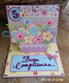 Ricordi di Carta : POP UP CARD