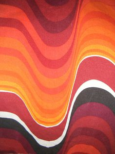 1960s fabric Frequency by Barbara Brown for Heals http://decdesignecasa.blogspot.it