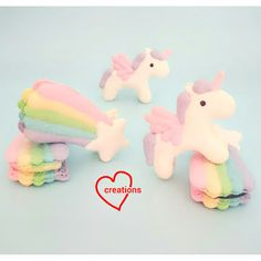 Loving Creations for You: Unicorn and Shooting Star Macarons (templates incl...