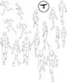Body Sheet 1...via deviantart