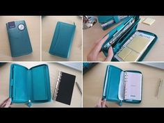 Office Organization Tips, Paper Organization, Planner Book, Planner Journal, Journal Ideas, Day Planners, Simple Gifts, Compact, Notebook