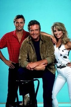 """Fall Guy, The"" Douglas Barr, Lee Majors, Heather Thomas 1985 ABC / 20th"
