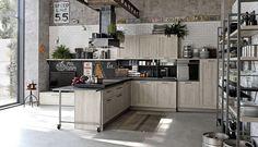 City Urban Look di Stosa Cucine: atmosfera loft dal gusto industrial-chic | Zetadesign - Arredamento Brescia - Mobili su misura
